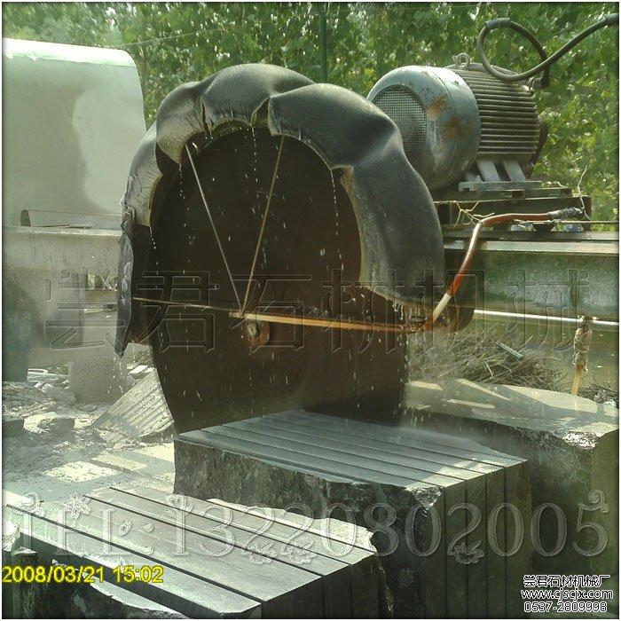 HQJ-2000桥式自动升降锯石机