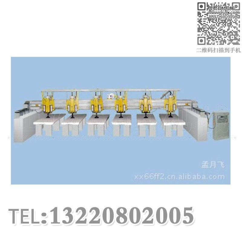 QHJ-4000桥式多头磨抛光机